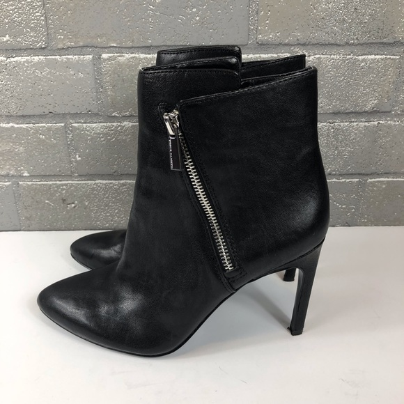 Vince Camuto Shoes - Vince Camuto | 'Chantel' Asymmetrical Zip Bootie.